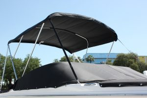 Bimini top and cockpit cover