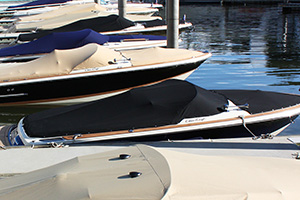 Chris-Craft Boat with Ameritex Canvas